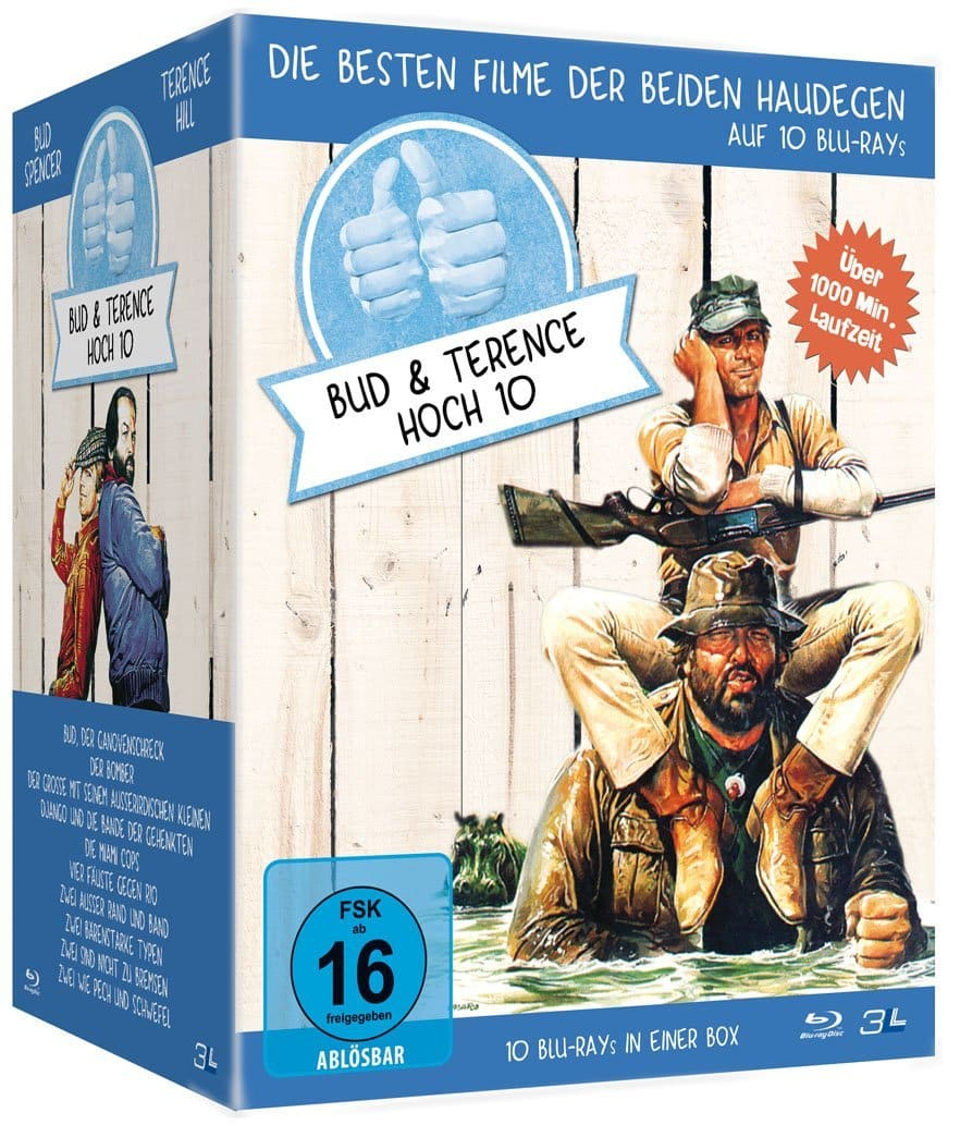 """Vorstellung: Blu-ray: """"Bud Spencer & Terence Hill Hoch 10"""""""