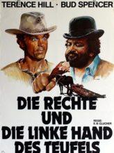 """Plakat von """"Die Rechte und die Linke Hand des Teufels"""""""
