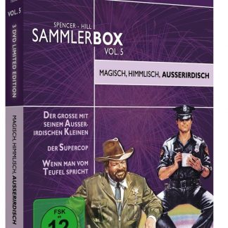 Bud Spencer & Terence Hill - Sammlerbox Vol. 5 [Limited Edition] [3 DVDs]