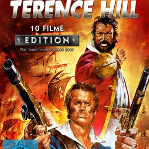 Bud Spencer & Terence Hill - 10 Filme Edition - Metal-Pack [4 DVDs]