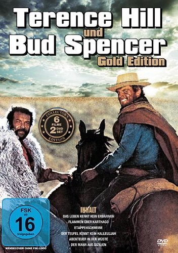 Terence Hill & Bud Spencer - Gold Edition [2 DVDs]