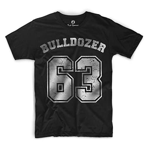 Bud Spencer - Bulldozer 63 - T-Shirt schwarz