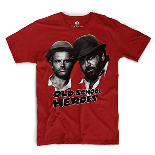 Bud Spencer - Old School Heroes - T-Shirt rot
