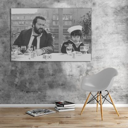Bud Spencer - Plattfuss in Hong Kong - Leinwand