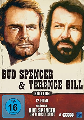 Bud Spencer & Terence Hill 12 Filme Edition [5 DVDs] [Collector's Edition]