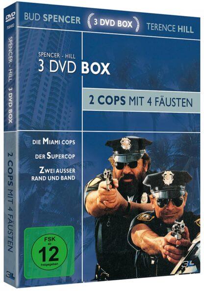 Bud Spencer & Terence Hill Sammlerbox Vol. 1: 2 Cops mit 4 Fäusten (3 DVDs) [Limited Edition]