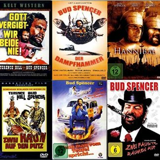 BUD SPENCER & TERENCE HILL - Film Paket [6 DVDs]