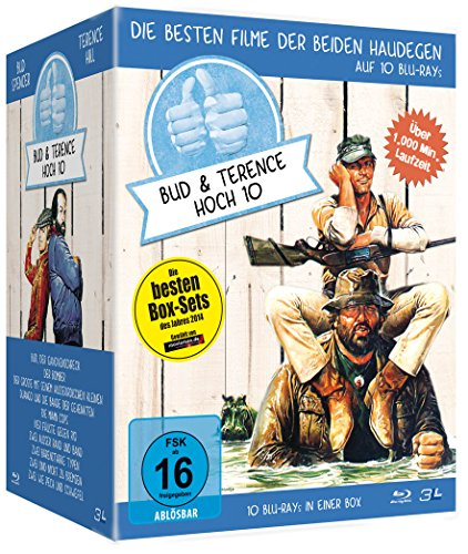 Bud Spencer & Terence Hill - Jubiläums-Collection-Box [Blu-ray]
