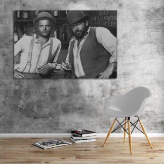 Bud Spencer - Vier Fäuste für ein Halleluja - Leinwand