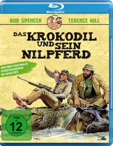 Bud Spencer & Terence Hill - Das Krokodil und sein Nilpferd [Blu-ray]