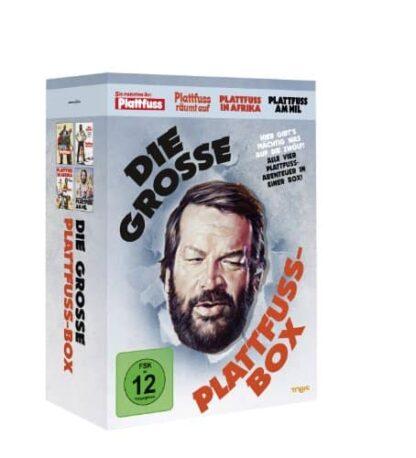 Die große Plattfuß-Box [4 DVDs]