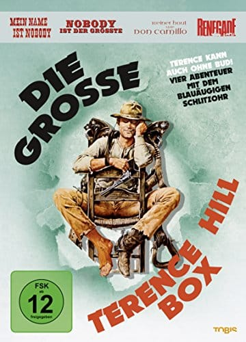 Die große Terence Hill Box [4 DVDs]