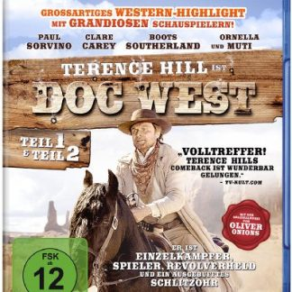 Doc West - Teil 1 & Teil 2 (Doc West - Nobody ist zurück / Doc West - Nobody schlägt zurück) [Blu-ray]
