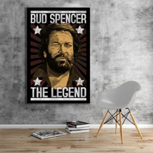 Bud Spencer - THE LEGEND - Leinwand