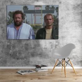 Bud Spencer und Terence Hill - Zwei ausser Rand und Band - Leinwand