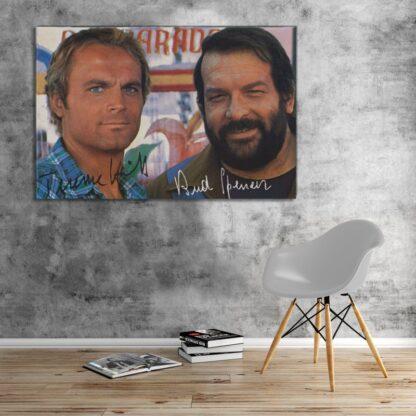 Bud Spencer und Terence Hill - Zwei wie Pech und Schwefel - Leinwand