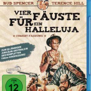 Bud Spencer & Terence Hill - Vier Fäuste für ein Halleluja (1982er Kino-Comedy-Fassung) [Blu-ray]