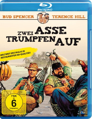 Bud Spencer & Terence Hill - Zwei Asse trumpfen auf [Blu-ray]