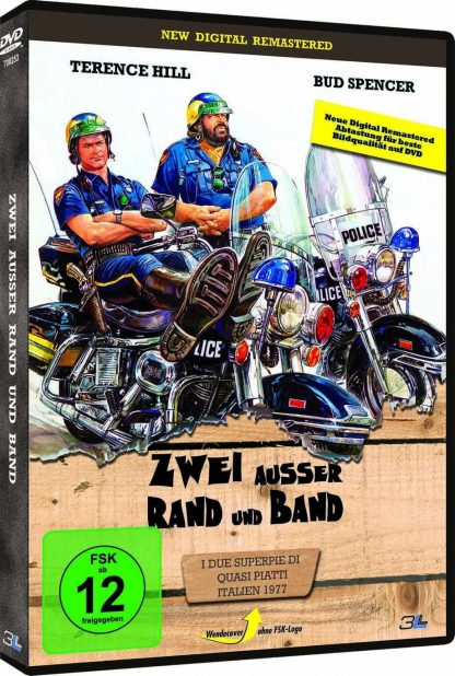 Zwei außer Rand und Band - DVD