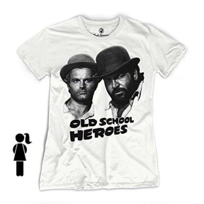 Bud Spencer - Girls - Old School Heroes - T-Shirt