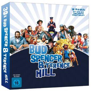 Die Große Bud Spencer & Terence Hill Buchbox im Vinylformat [Blu-ray]