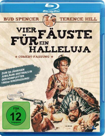 Vier Fäuste für ein Halleluja (82er Comedy-Fassung) - Blu-ray