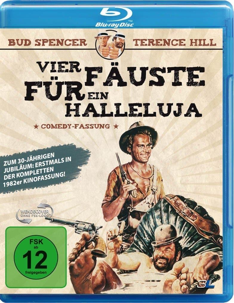 Vier Fäuste für ein Halleluja-1982er Kino-Comedy-Fassung-Blu-ray