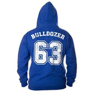 Bulldozer 63 - Hoodie (blau) - Bud Spencer