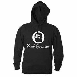 Bud Spencer Official Logo - Hoodie (schwarz)