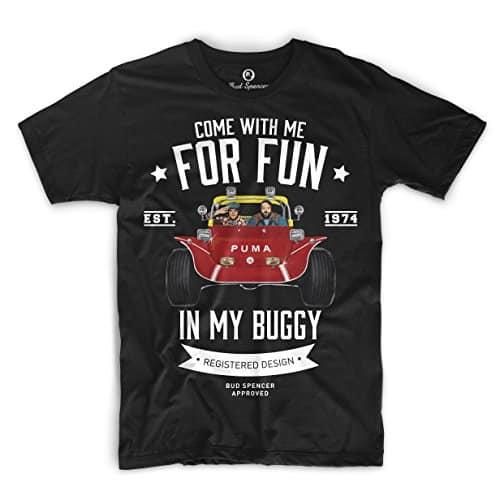 Bud Spencer Terence Hill - Zwei wie Pech und Schwefel T-Shirt (schwarz)