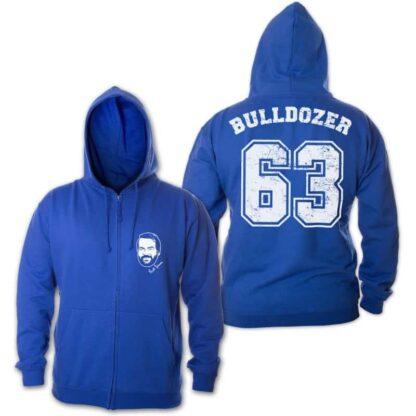 Bud Spencer - Bulldozer 63 - Zipper Jacke (blau)
