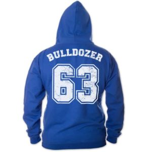 Bud Spencer - Bulldozer 63 - Zipper Jacke (blau)