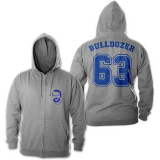 Bud Spencer - Bulldozer 63 - Zipper Jacke (grau)