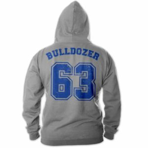 Bud Spencer - Bulldozer 63 - Zipper Jacke (grau)