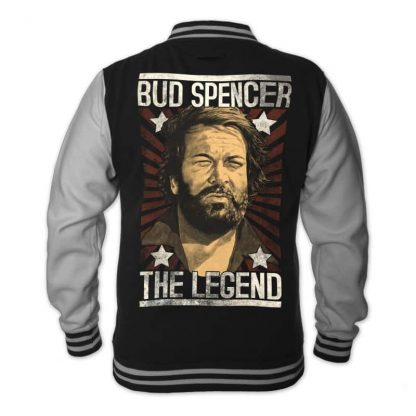 Bud Spencer - THE LEGEND - College Jacke (schwarz)