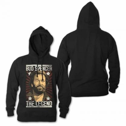 Bud Spencer - THE LEGEND - Hoodie (schwarz)