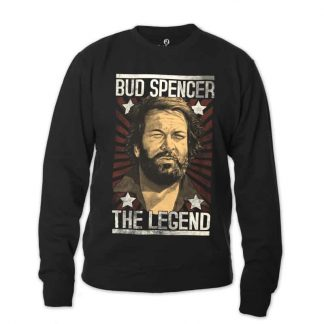 Bud Spencer - THE LEGEND - Sweatshirt (schwarz)