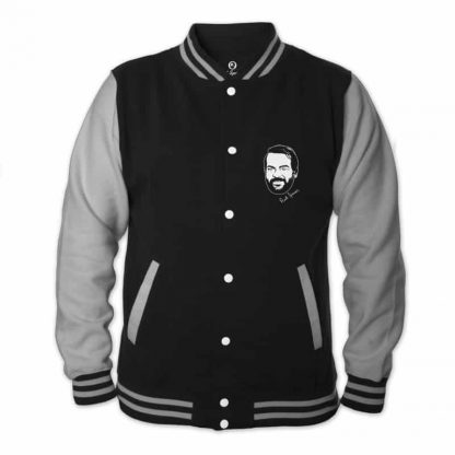 Old School Heroes - College Jacke (schwarz) - Bud Spencer