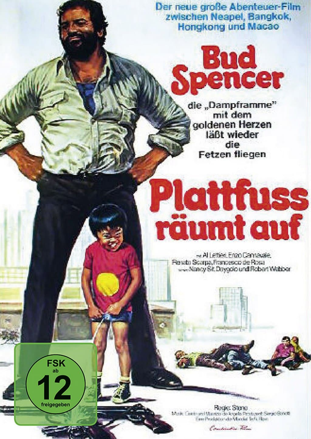 Bud Spencer - Plattfuss räumt auf (DVD)