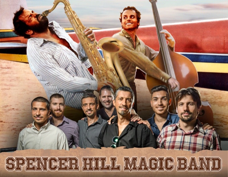 Spencer Hill Magic Band gastiert erstmals in Wien