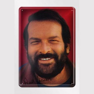 Bud Spencer - Blechschild