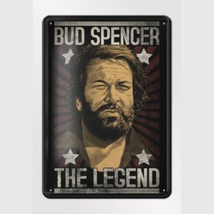 bud spencer blechschild
