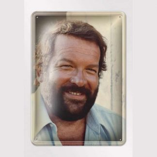 Bud Spencer Plattfuss - Blechschild