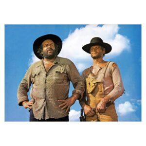 Bud Spencer & Terence Hill - Der Kleine & Der müde Joe / Die rechte und die linke Hand des Teufels - Poster A3
