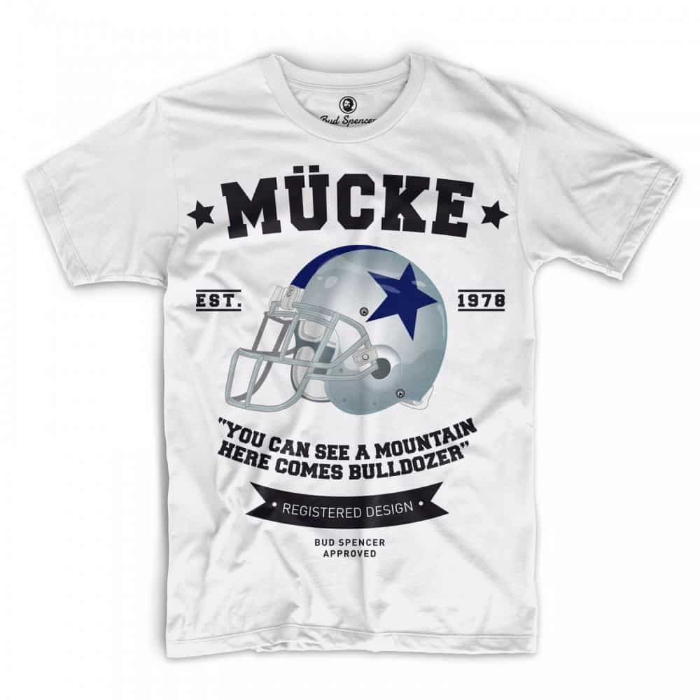 ᐅ Bud Spencer Mücke / Bulldozer - T-Shirt (weiss) » BudTerence