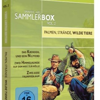 Bud Spencer & Terence Hill Sammlerbox Vol. 2: Palmen, Strände, wilde Tiere (3 DVDs) [Limited Edition]