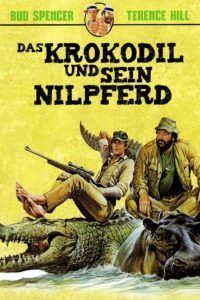 """Plakat von """"Das Krokodil und sein Nilpferd"""""""