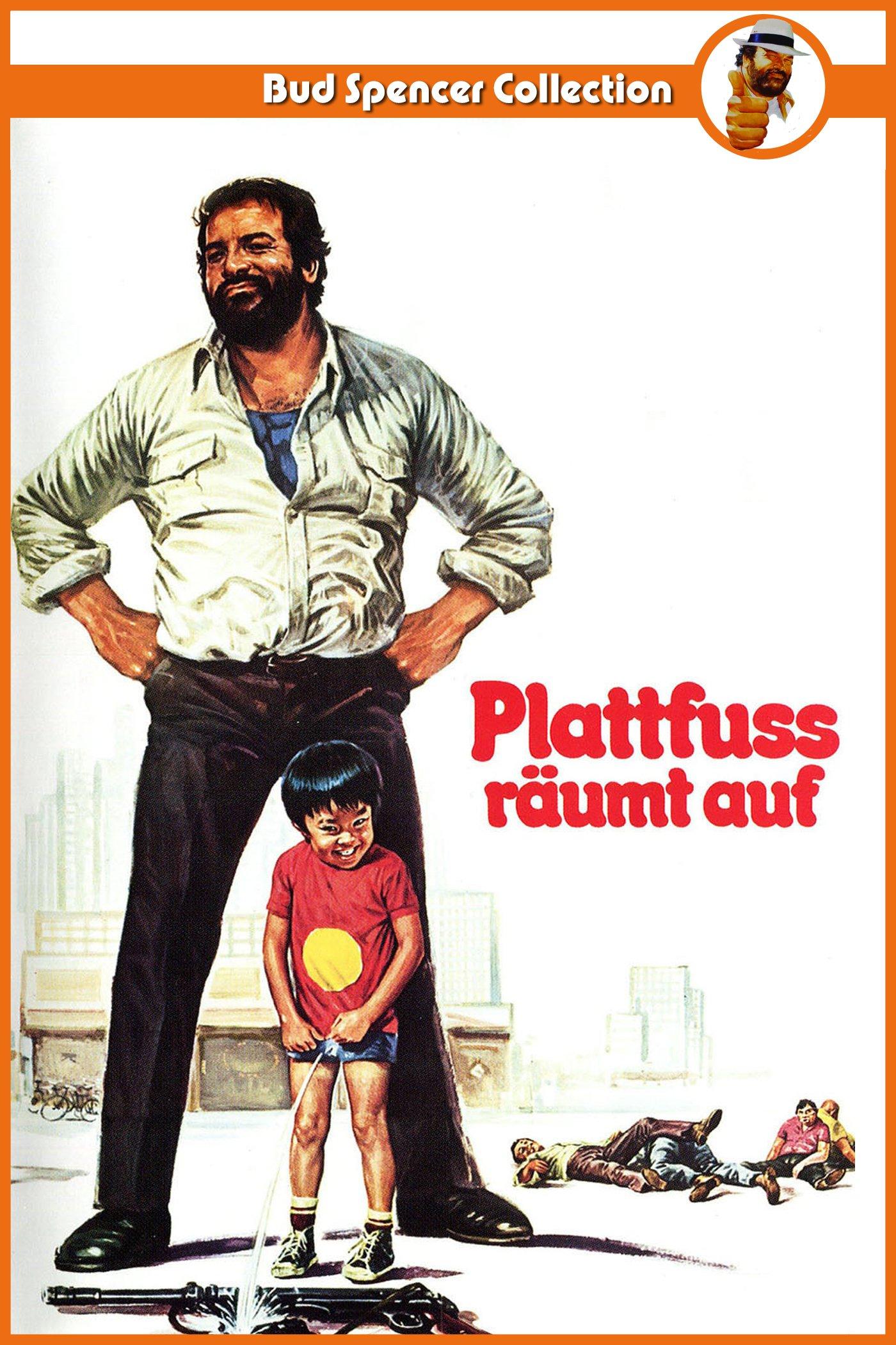 "Plakat von ""Plattfuß räumt auf"""