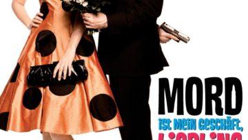 """Plakat von """"Mord ist mein Geschäft, Liebling"""""""