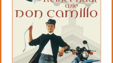 """Plakat von """"Keiner haut wie Don Camillo"""""""